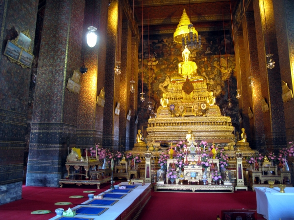 The main altar of the Ordination hall & Wat Po - Bangkok For Visitors islam-shia.org